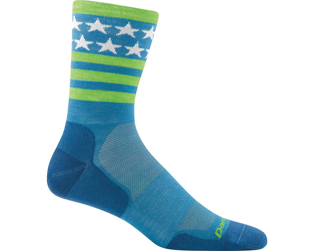 Darn Tough Stars/Stripes Micro Crew Ultra Light Men's Sock (Blue)