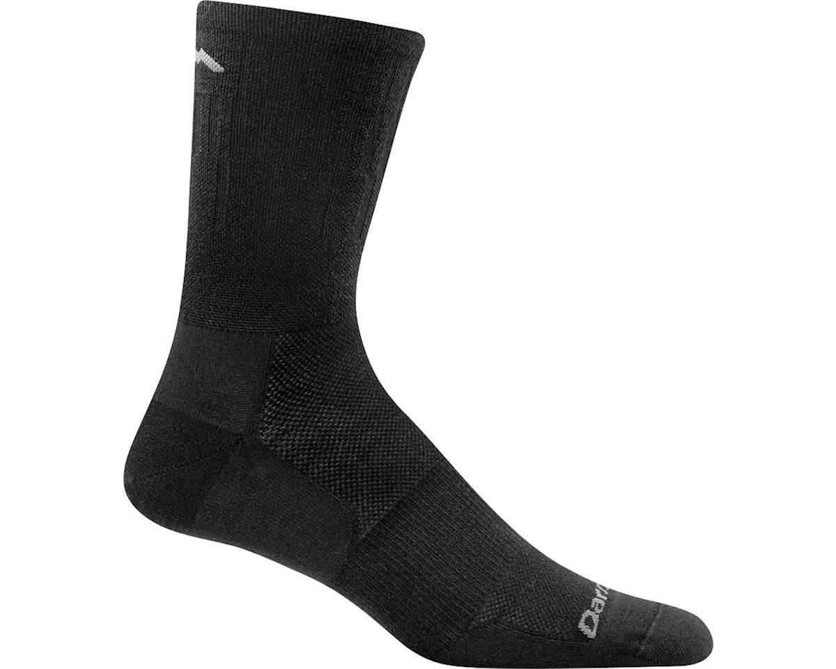 Darn Tough Vermont Breakaway Micro Crew Ultra Light Men's Sock (Black) (L)
