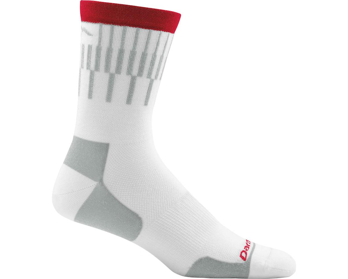 SCRATCH & DENT: Darn Tough Vermont Breakaway Micro Crew Ultra Light Men's Sock (White) (M)