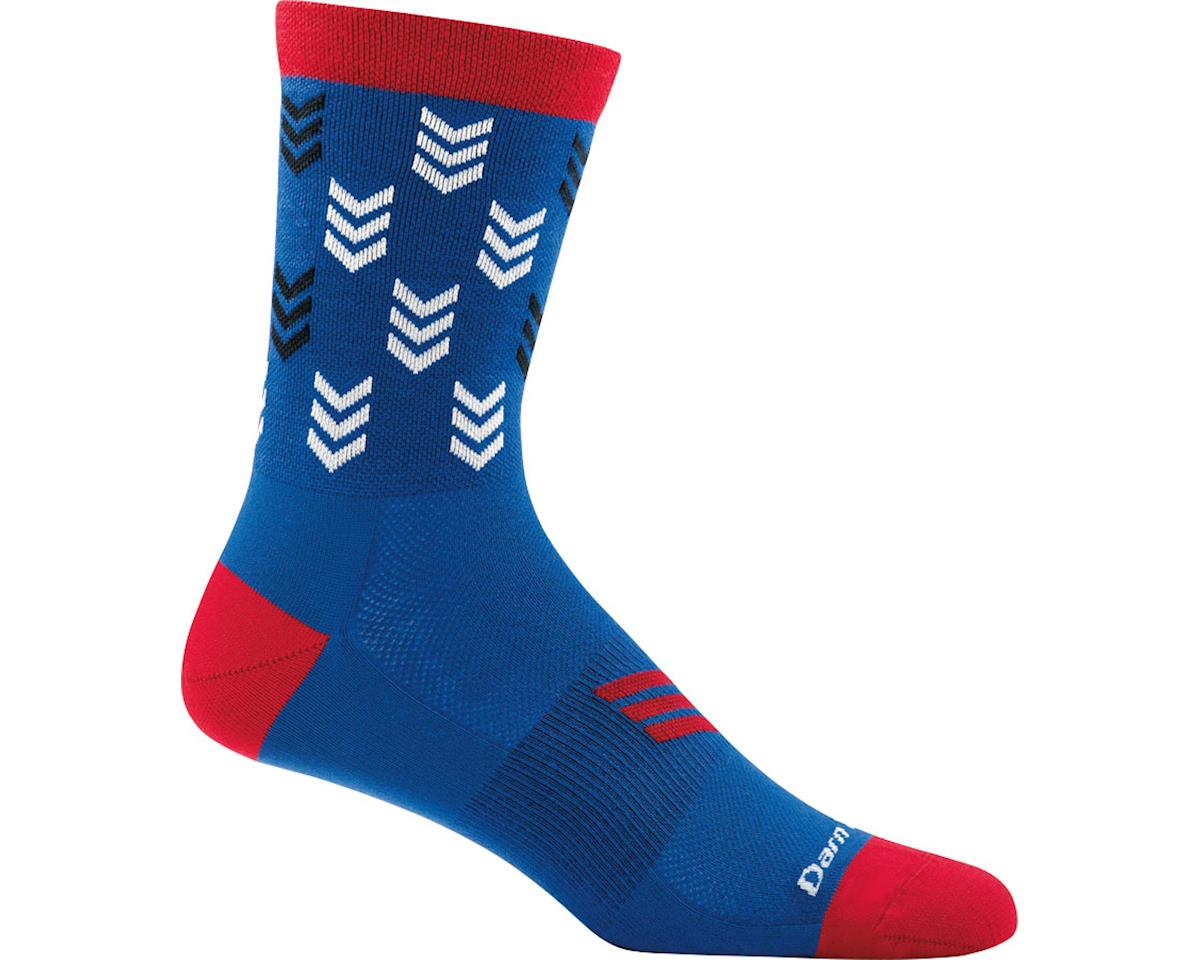 Darn Tough Vermont Chase Micro Crew Ultra Light Men's Sock (Marine) (XL)