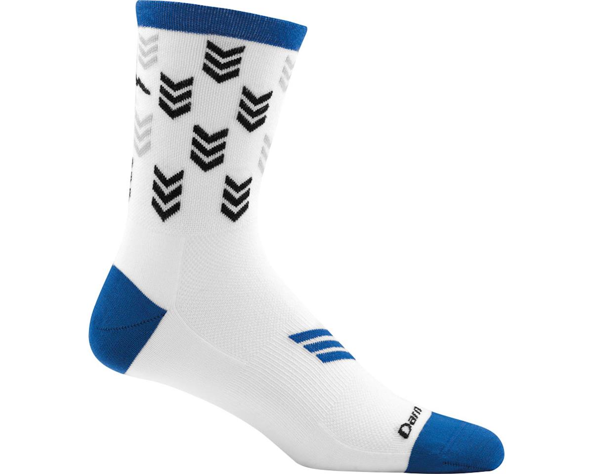 Darn Tough Vermont Chase Micro Crew Ultra Light Men's Sock (White) (M)