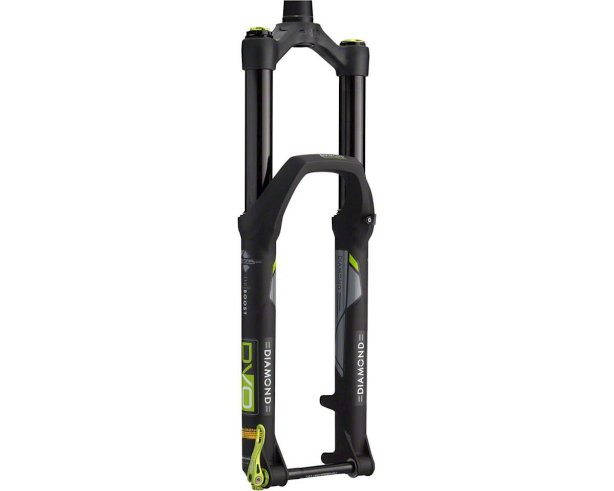 "Dvo Diamond Boost Trail Fork 27.5"", 170mm, 15mm Axle, Tapered Steerer, Black"