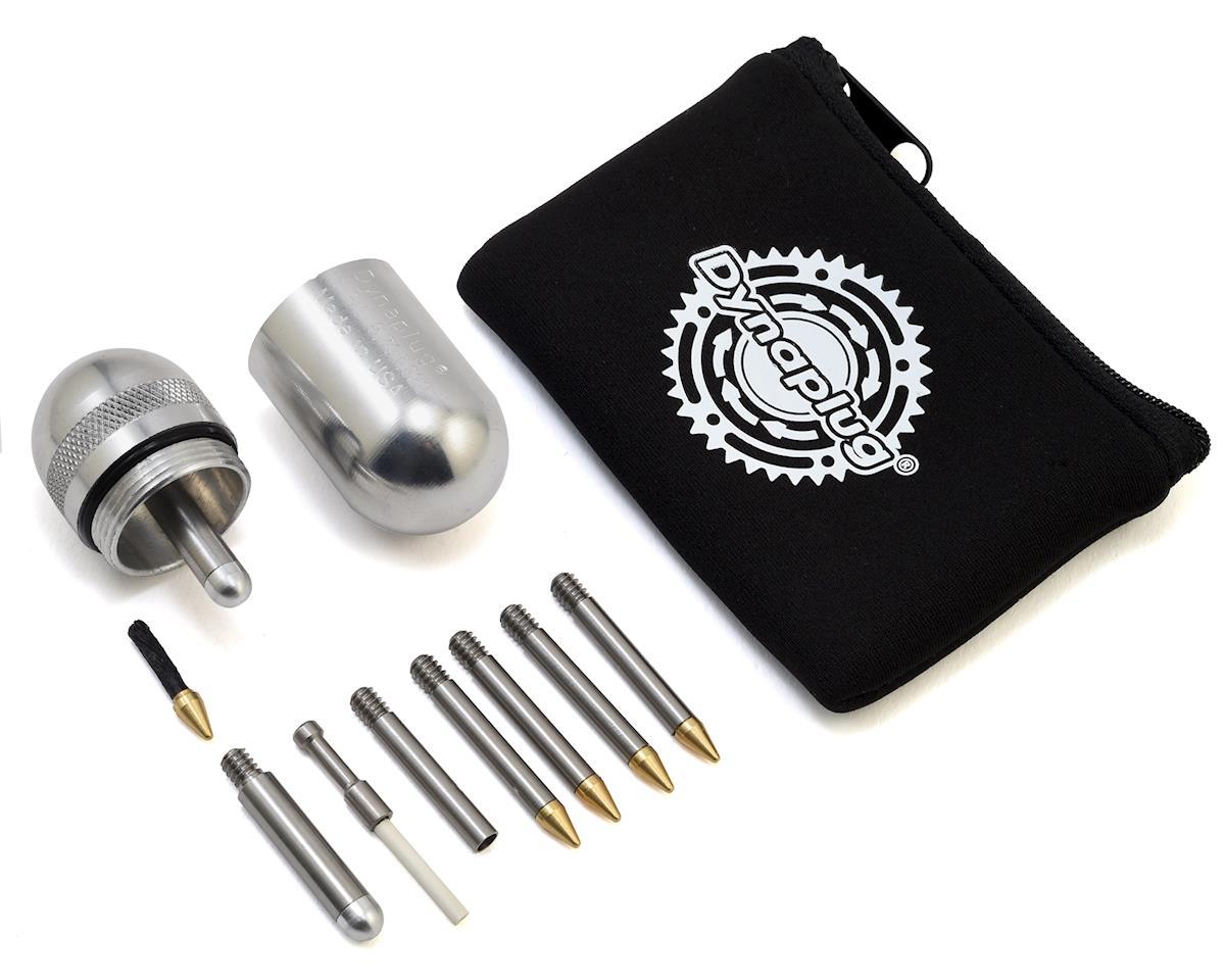 Dynaplug Megapill Tubeless Bicycle Tire Repair Kit (Polished Aluminum)