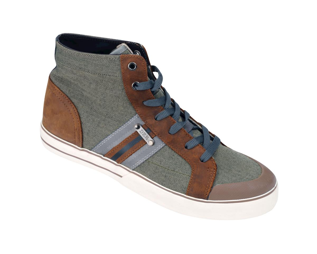 DZR Shoes DZR Tosca High Top Urban Shoes (Tan)