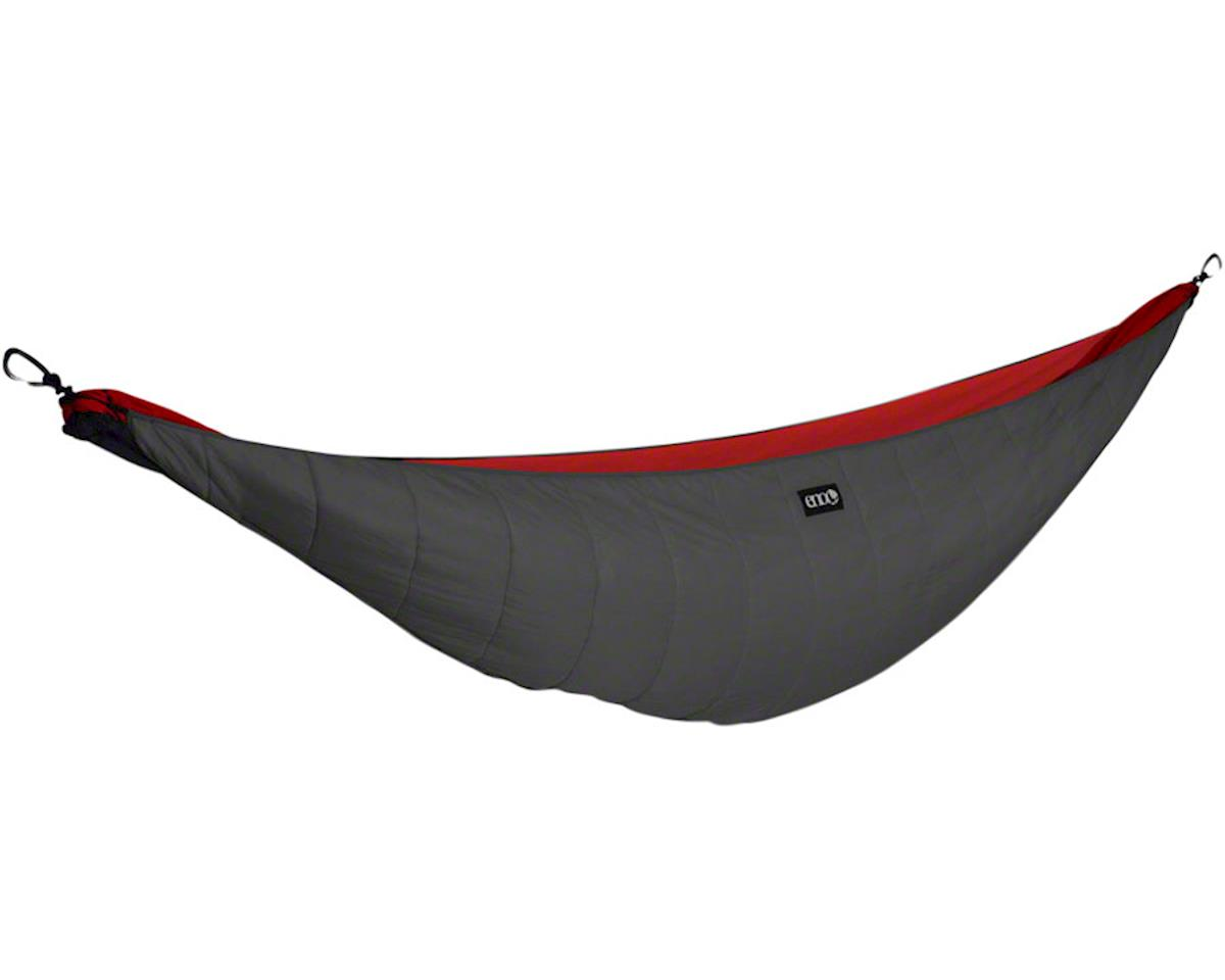 Eagles Nest Outfitters Ember 2 Underquilt, Polyester-fill, Charcoal/Red