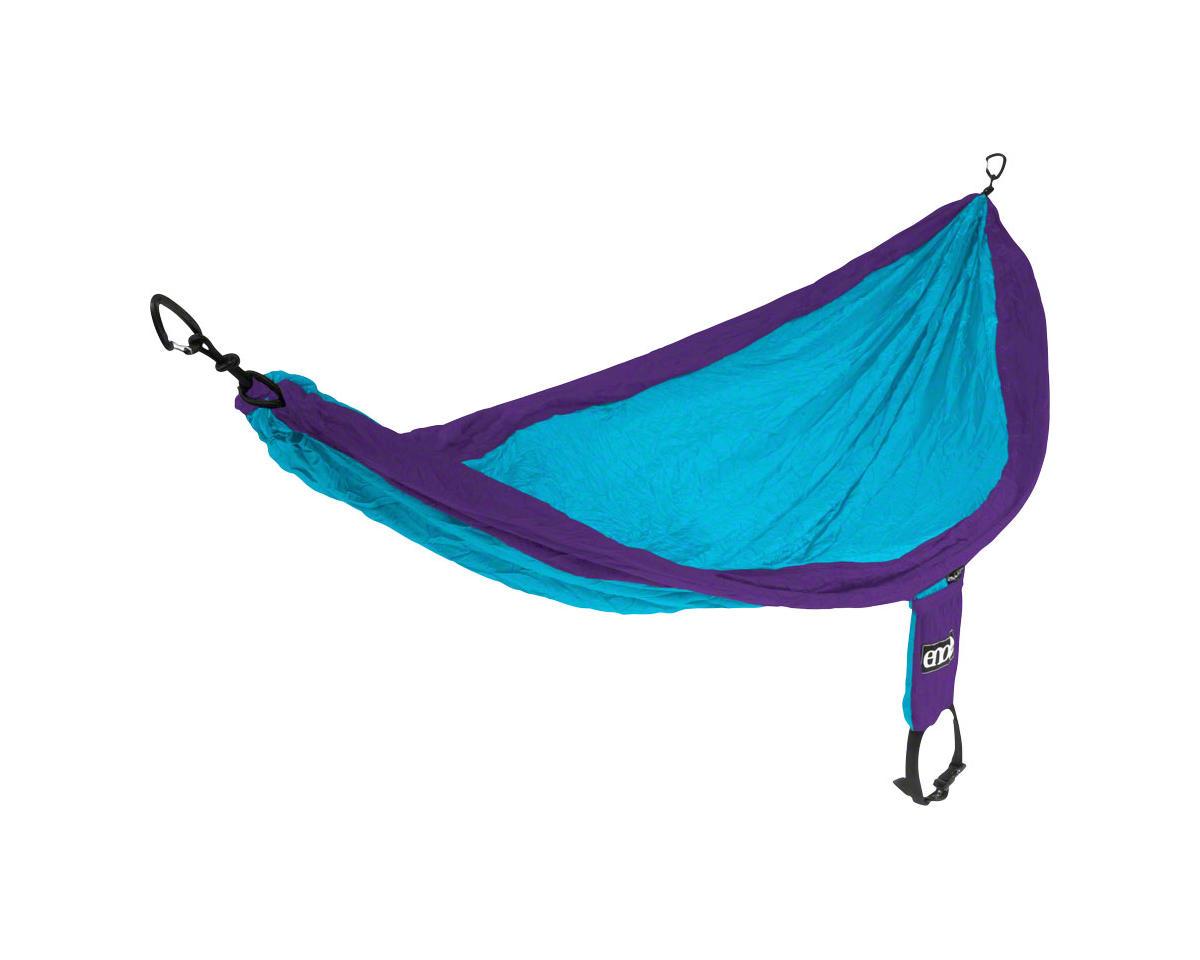 Eagles Nest Outfitters SingleNest Hammock: Purple/Teal