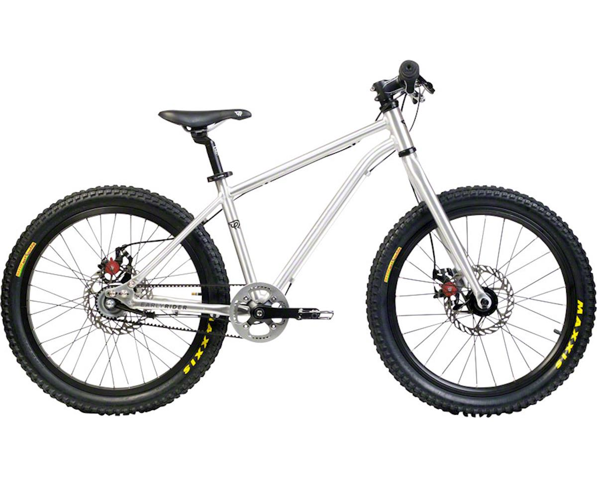 """Early Rider Belter Trail 3 Complete Bike: 20"""" Wheels, Silver"""