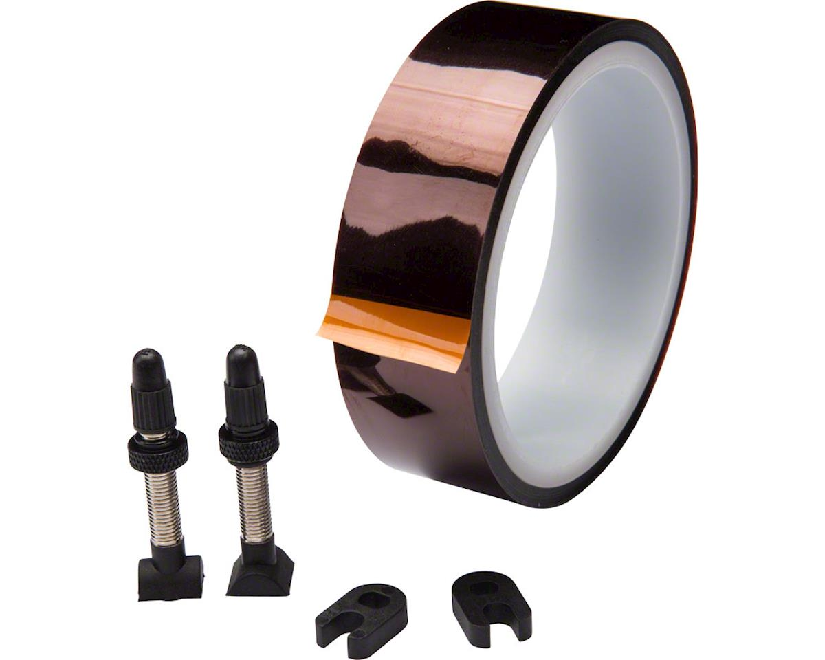 Easton Road Tubeless Kit (Includes 2 Valves & Tape)