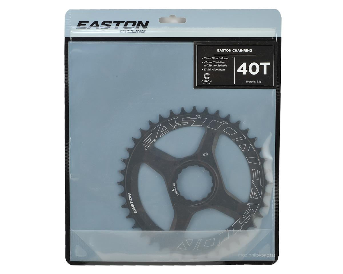 Easton  Direct Mount 42 Tooth Chainring, Black (40T)