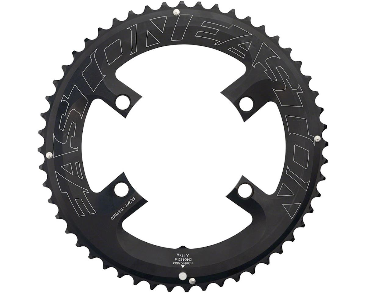 Easton Asyemetric Outer Chainring (Black) (11 Speed) (4-Bolt) (52T)