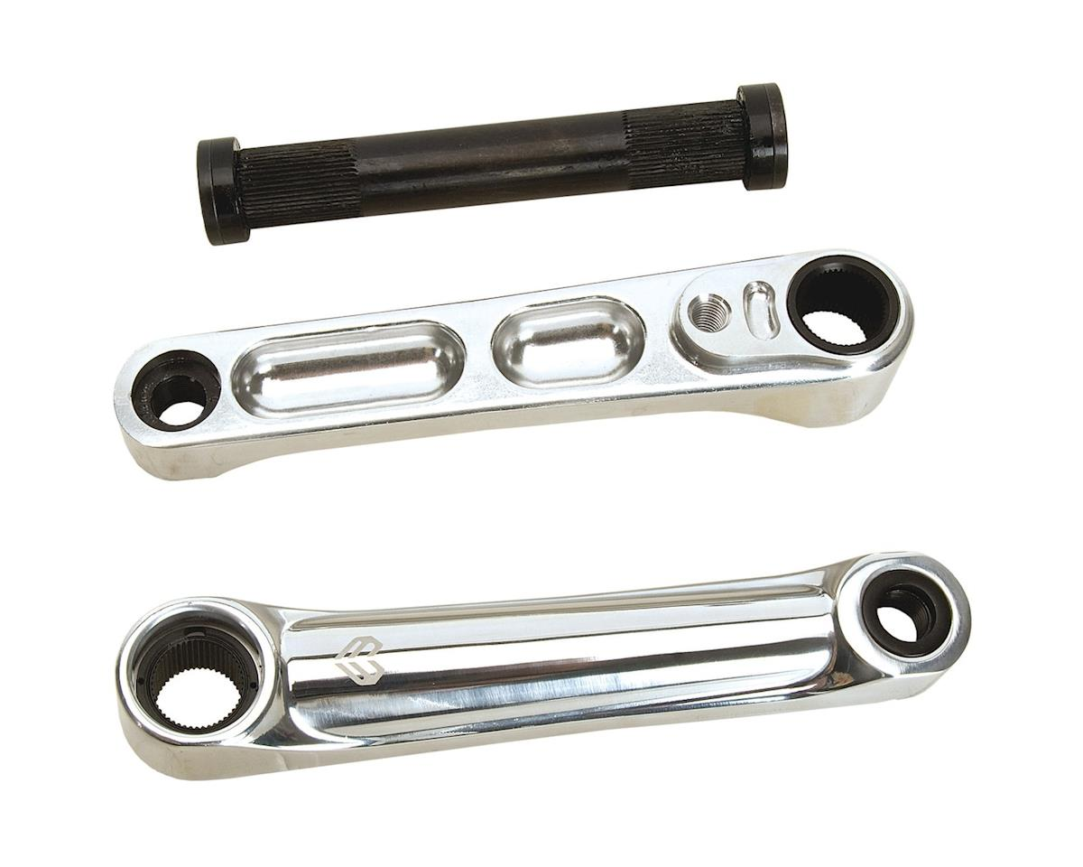 Eclat Maverick 3-piece Alloy Cranks (Polished) (170mm)