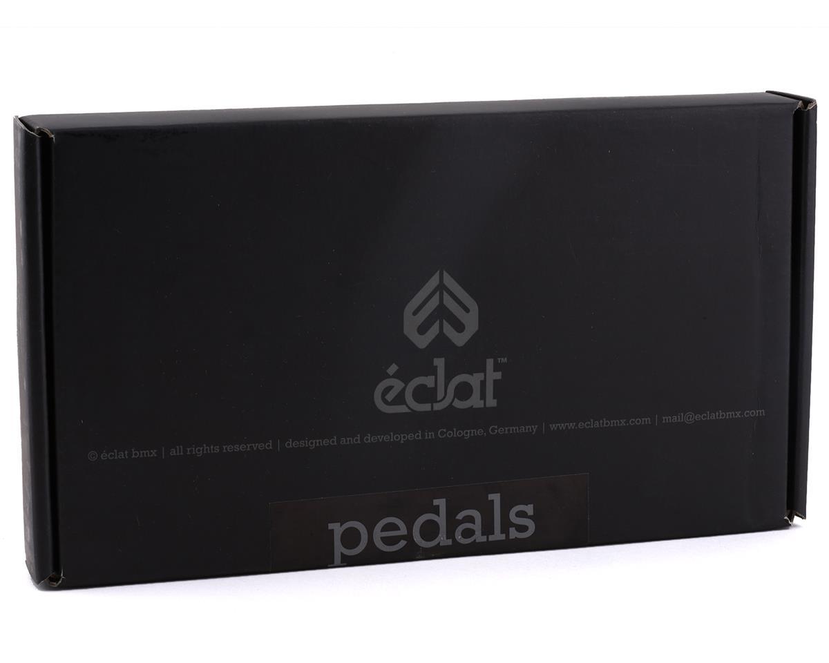 """Eclat Surge Aluminum Platform Pedals (Black) (9/16"""")"""