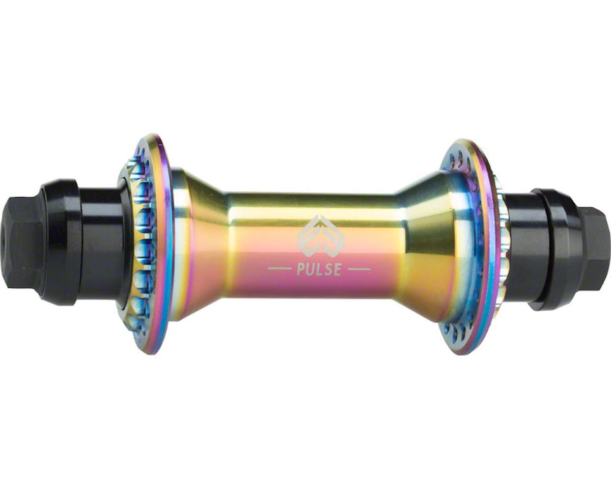 "Pulse Front Hub 36h 3/8"" Female Axle Satin Oilslick"