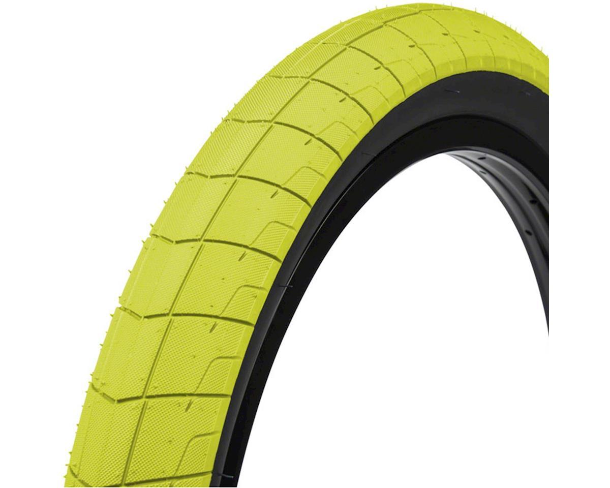 "Fireball Tire 20"" x 2.30"" 100 PSI Neon Yellow Tread/Black Sidewall"