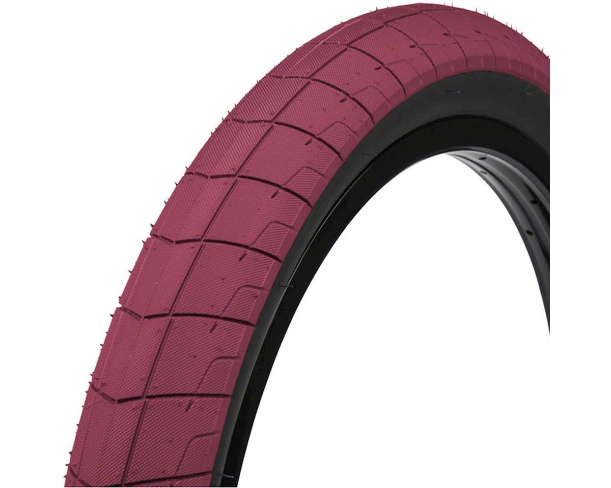 Eclat Fireball Tire - 20 x 2.4, Clincher, Wire, Burgundy/Black, 100tpi