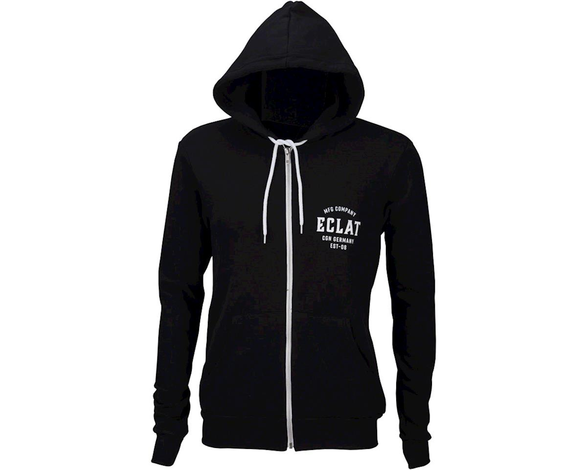 Eclat MFG Company Full Zip Hoodie: Black MD (M)