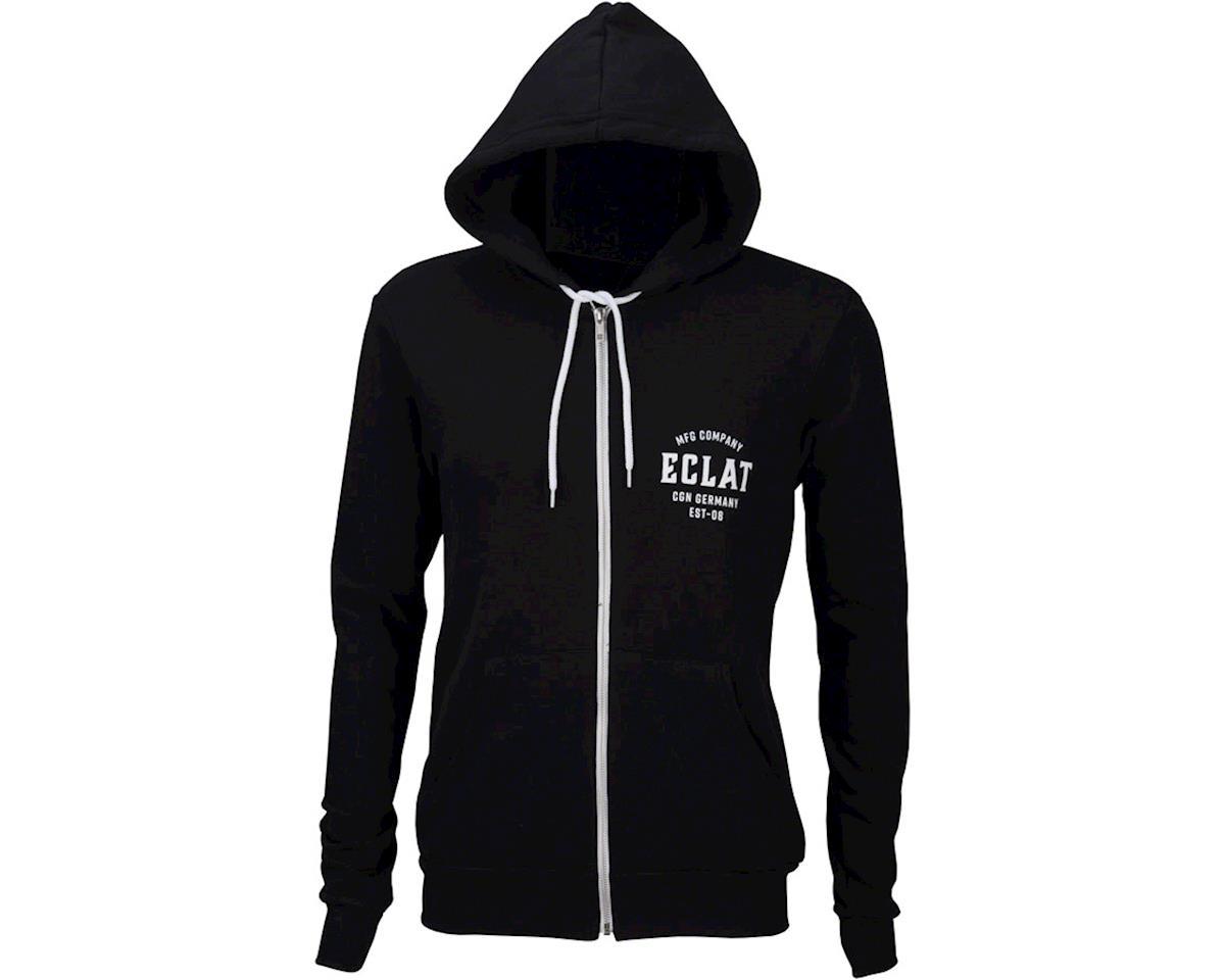 Eclat MFG Company Full Zip Hoodie: Black MD (XL)