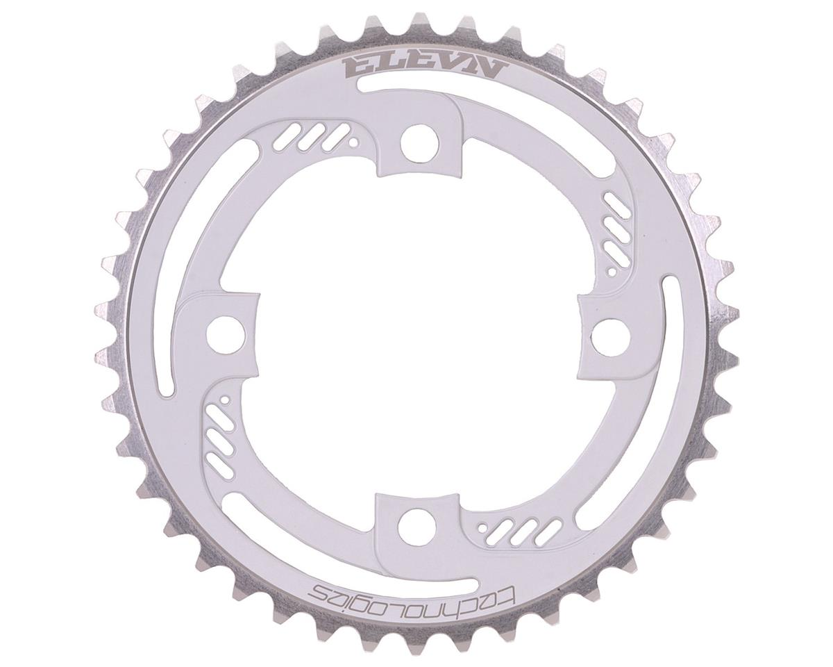 Elevn 4 Thrust 4-Bolt Chainring (White) (36T)