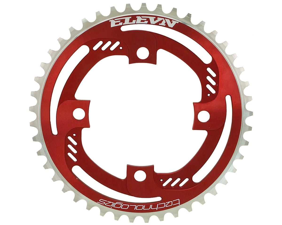 Elevn Thrust 4-Bolt Chainring (Red) (36T)