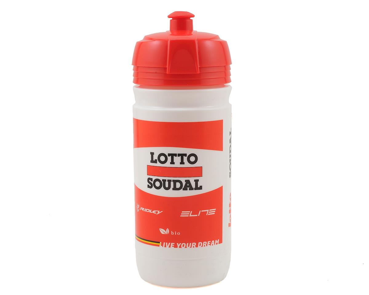 Elite Lotto Soudal Official Team Water Bottle (550ml)