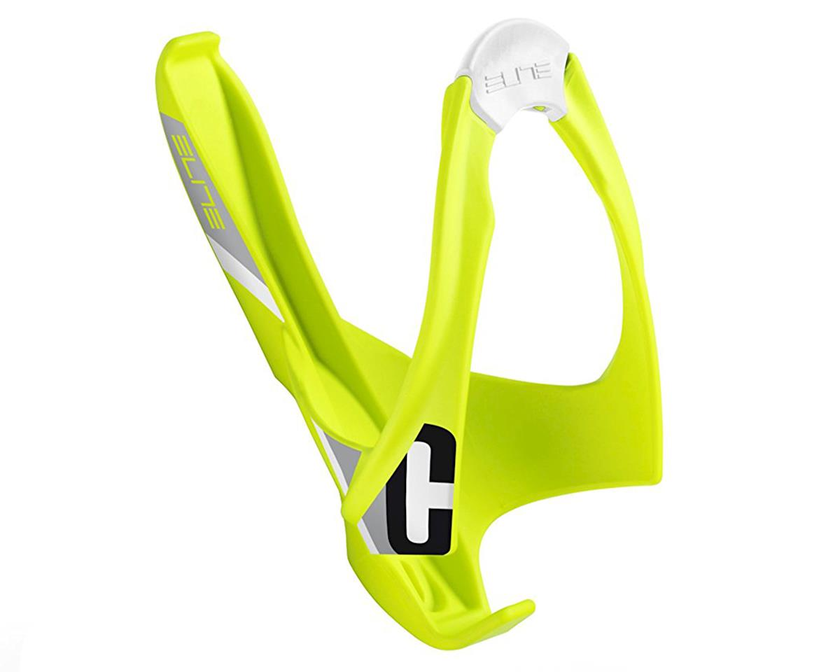 Cannibal Lateral Entry Bottle Cage (Fluorescent Yellow)