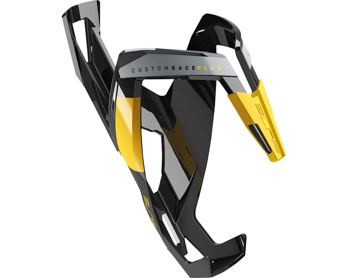 Elite Custom Race Plus Bottle Cage (Gloss Black/Yellow)