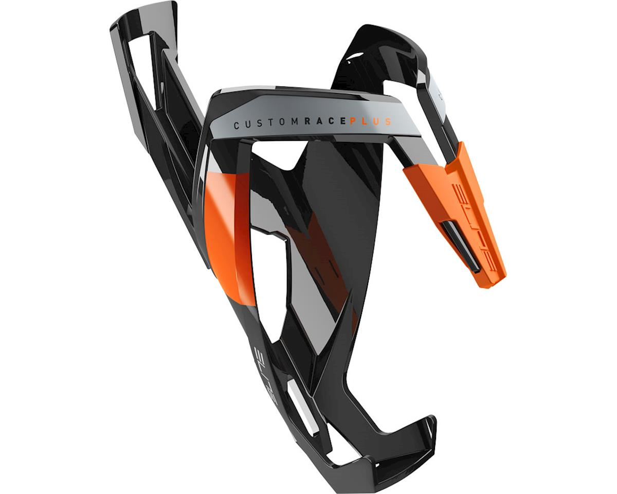 Elite Custom Race Plus Bottle Cage (gloss black/orange)