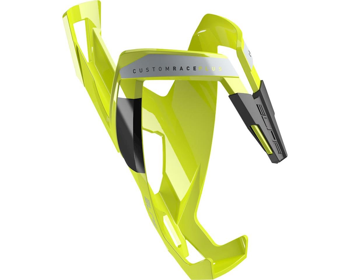 Elite Custom Race Plus Bottle Cage (flourescent yellow/black)