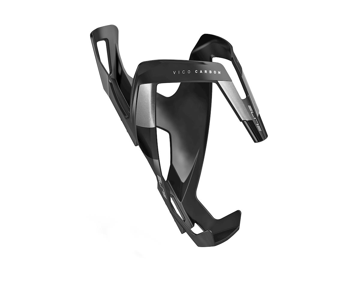 Elite Vico Carbon Bottle Cage (Matte Black/Gray)