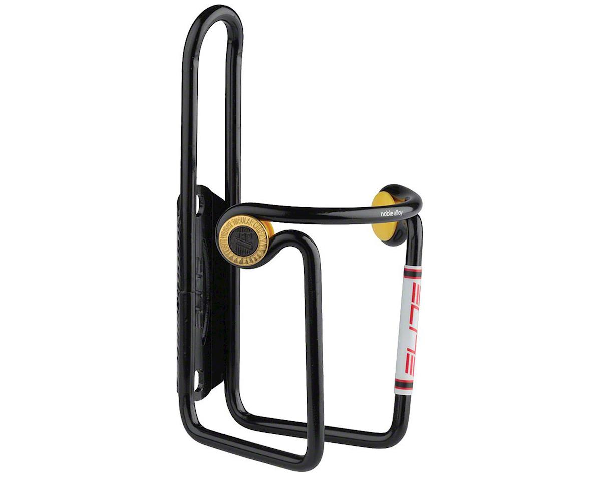 Elite Ciussi Alloy Water Bottle Cage (Black)