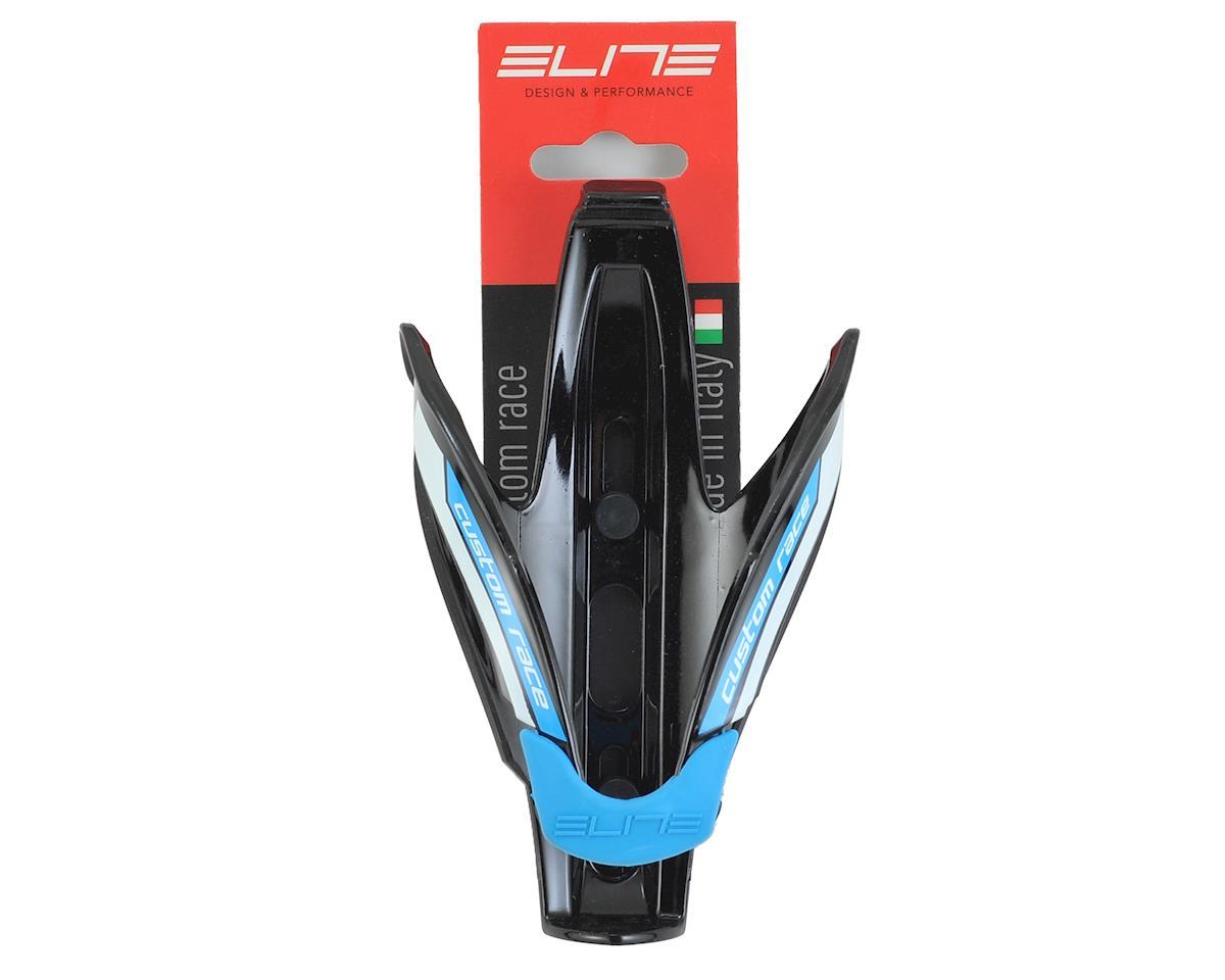 Image 2 for Elite Custom Race Bottle Cage (Gloss Black/Blue)
