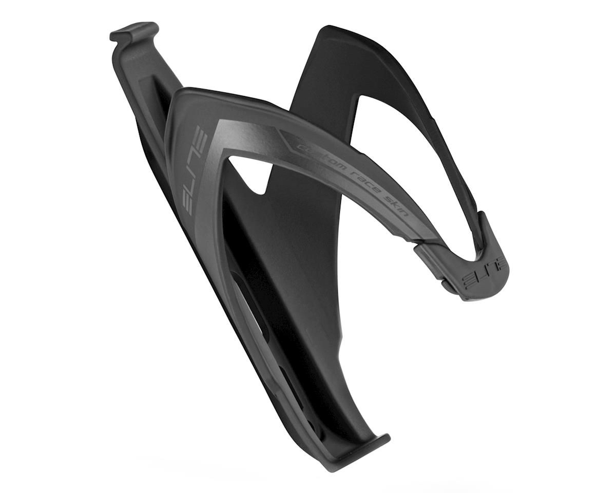 Elite Custom Race Skin Bottle Cage (Soft Touch Black/Black)