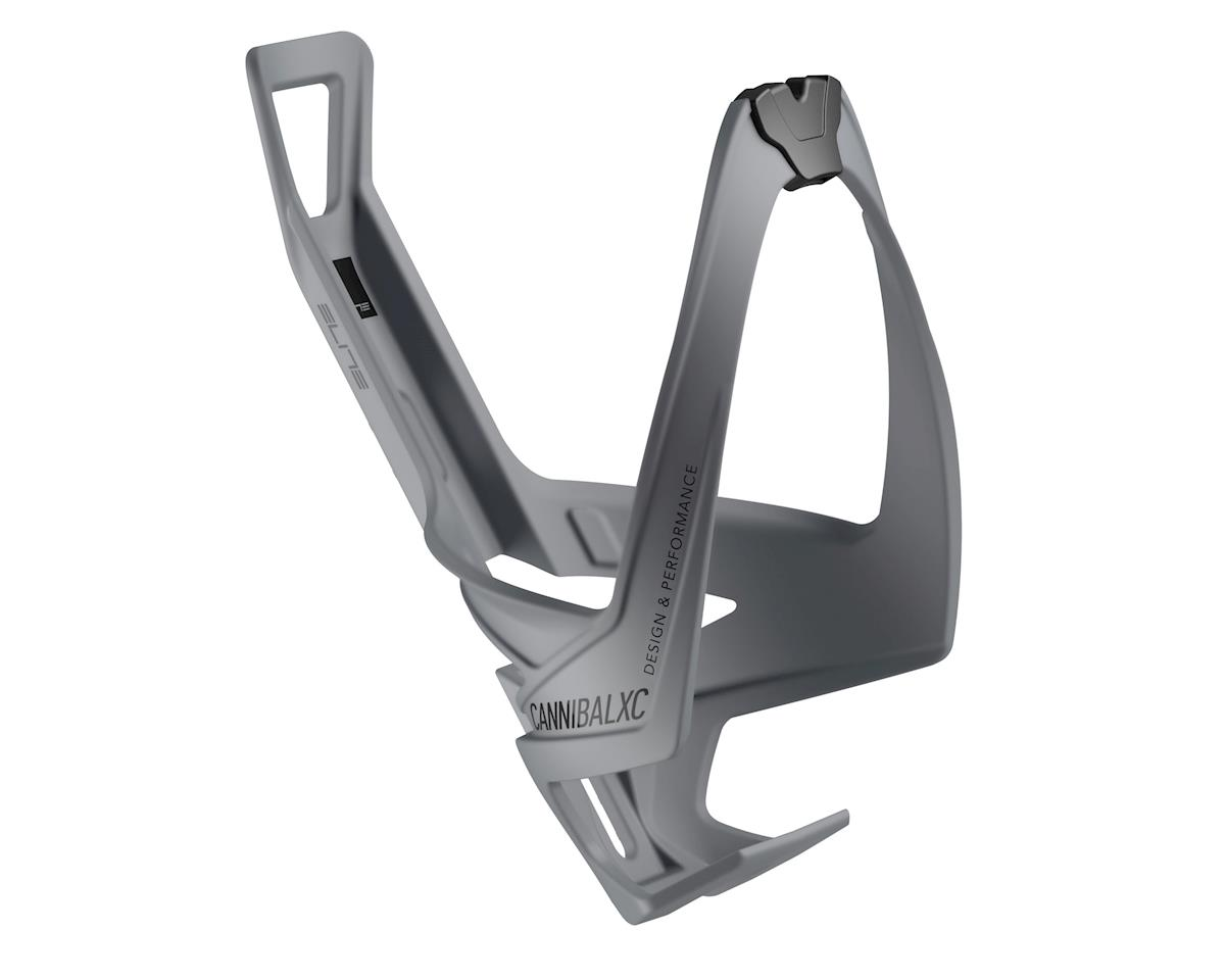 Elite Cannibal XC Bottle Cage (Soft Touch Grey)