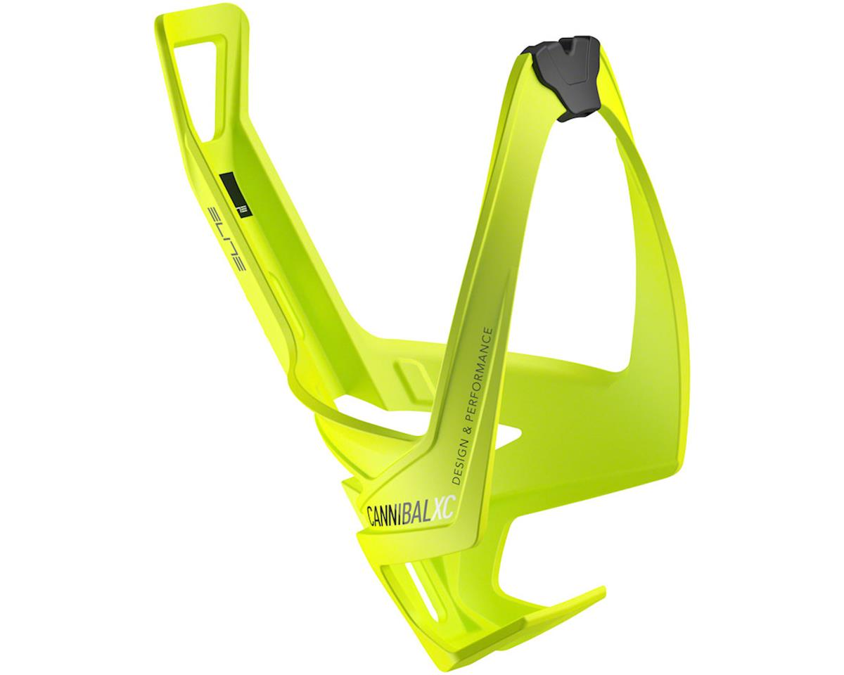 Elite Cannibal XC Bottle Cage (Yellow/Black Graphic) | alsopurchased