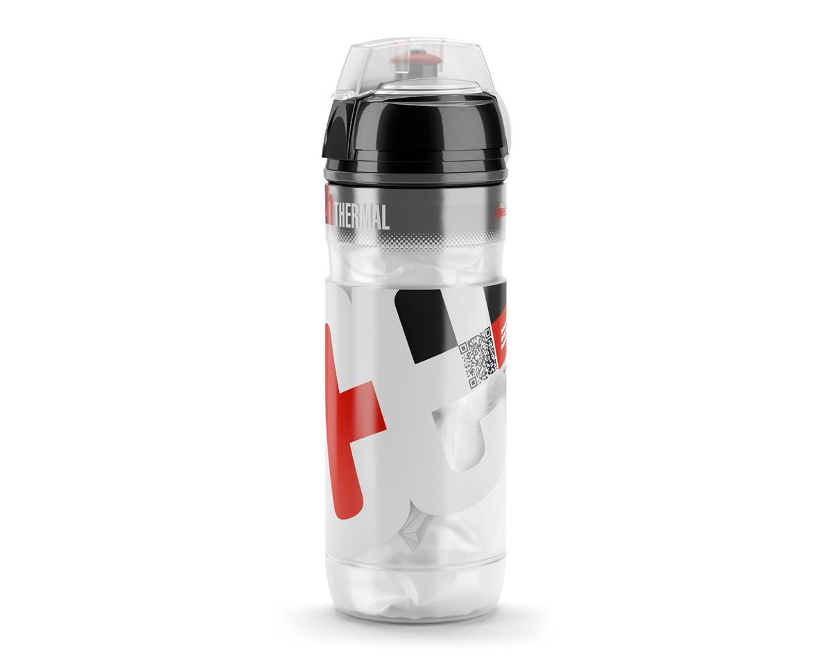 Elite Iceberg 2 Hour Thermal Water Bottle (White/Red) (500ml)