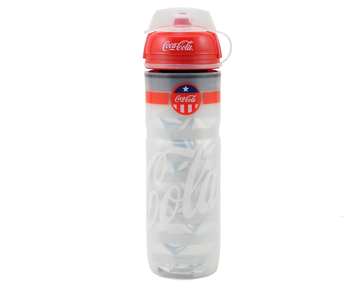 Elite Iceberg 2 Hour Thermal Water Bottle (Coca Cola Classic) (650ml)