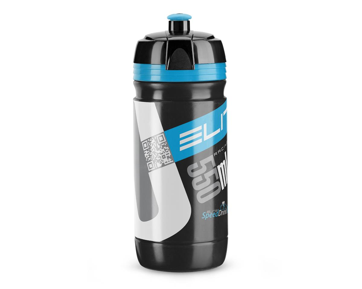 Elite Corsa Biodegradeable Water Bottle (Black/Blue) (550ml)