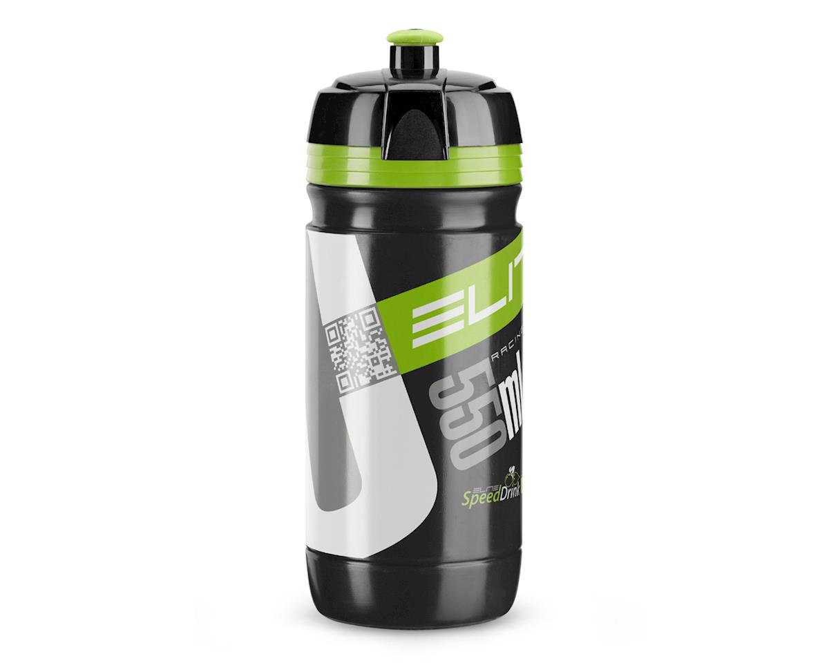 Elite Corsa Biodegradeable Water Bottle (Black/Green) (550ml)