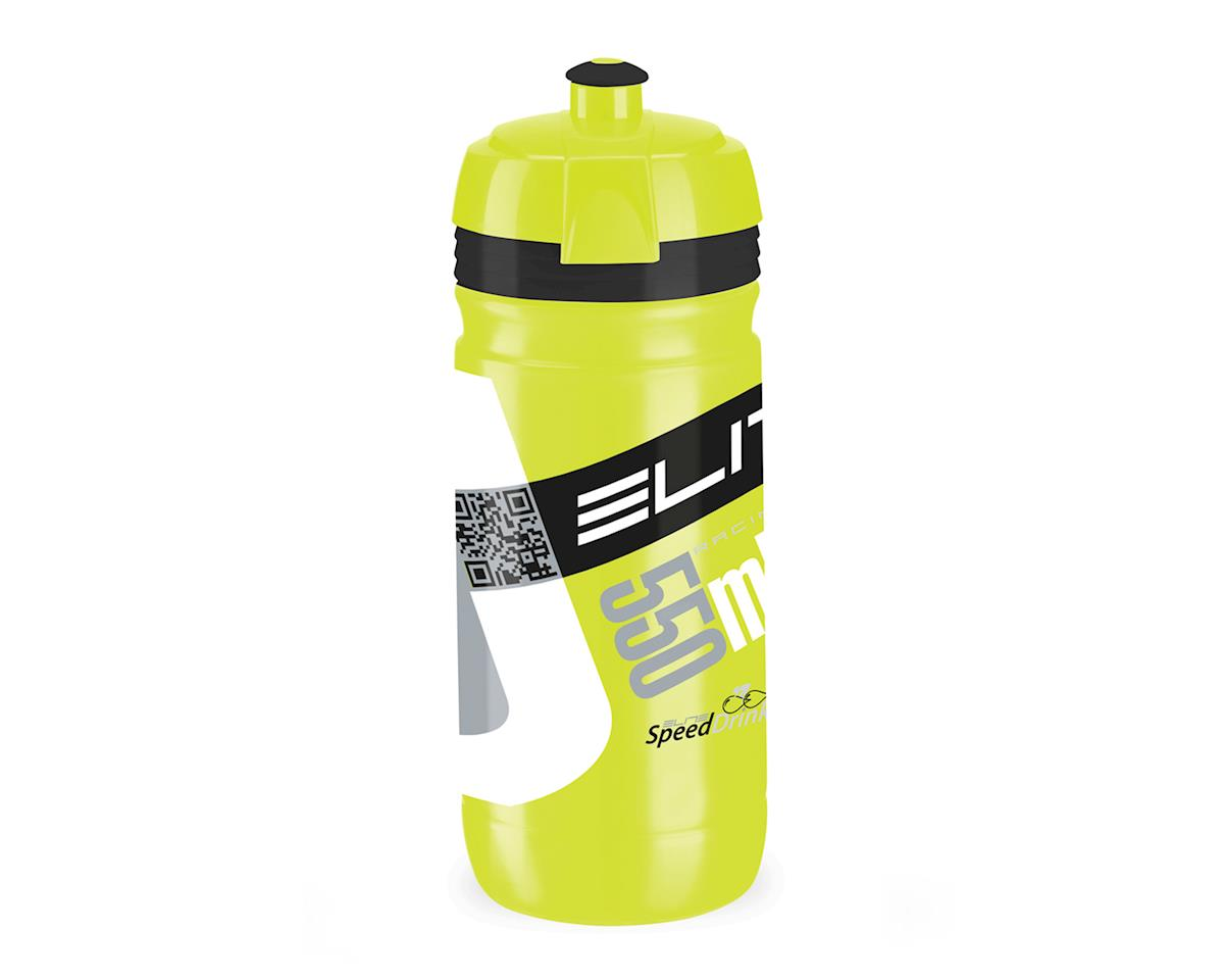 Elite Corsa Biodegradeable Water Bottle (Fluorescent Yellow/Black) (550ml)