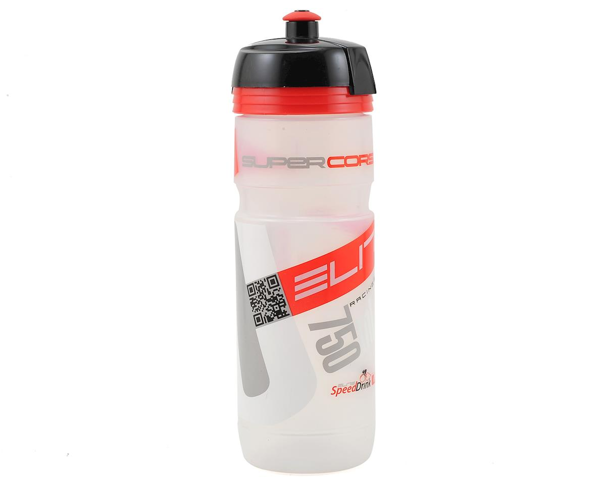 Elite Super Corsa Biodegradeable Water Bottle (Clear/Red Logo) (750ml)