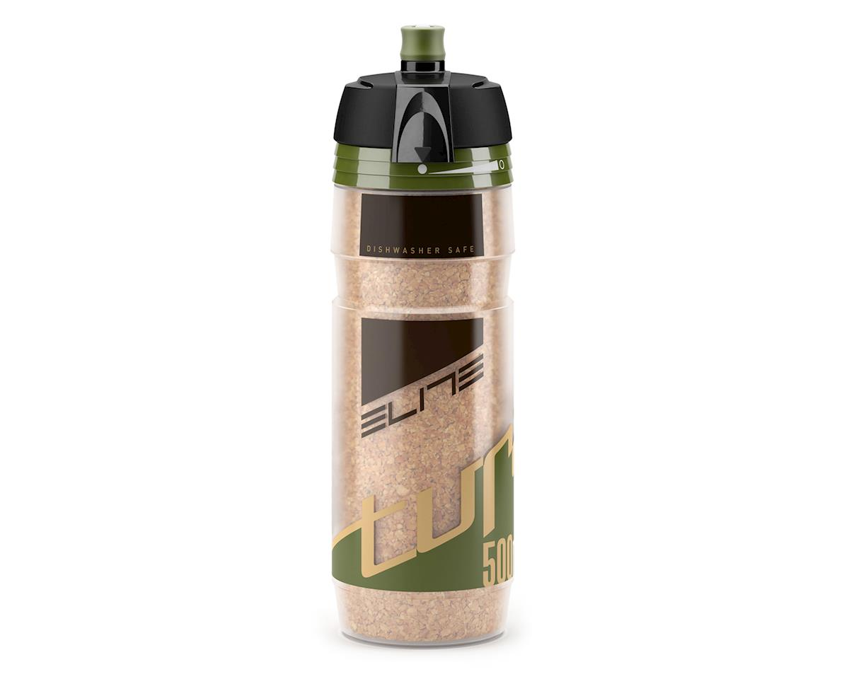 Elite Turacio Cork Insulated 3 Hour Water Bottle (Dark Green) (500ml)