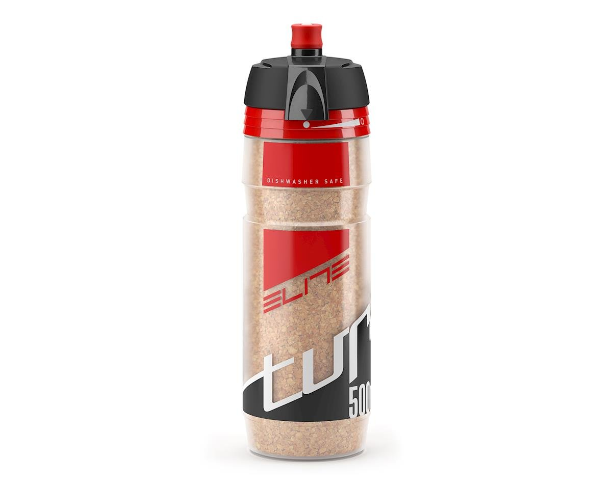 Elite Turacio Cork Insulated 3 Hour Water Bottle (Red) (500ml)