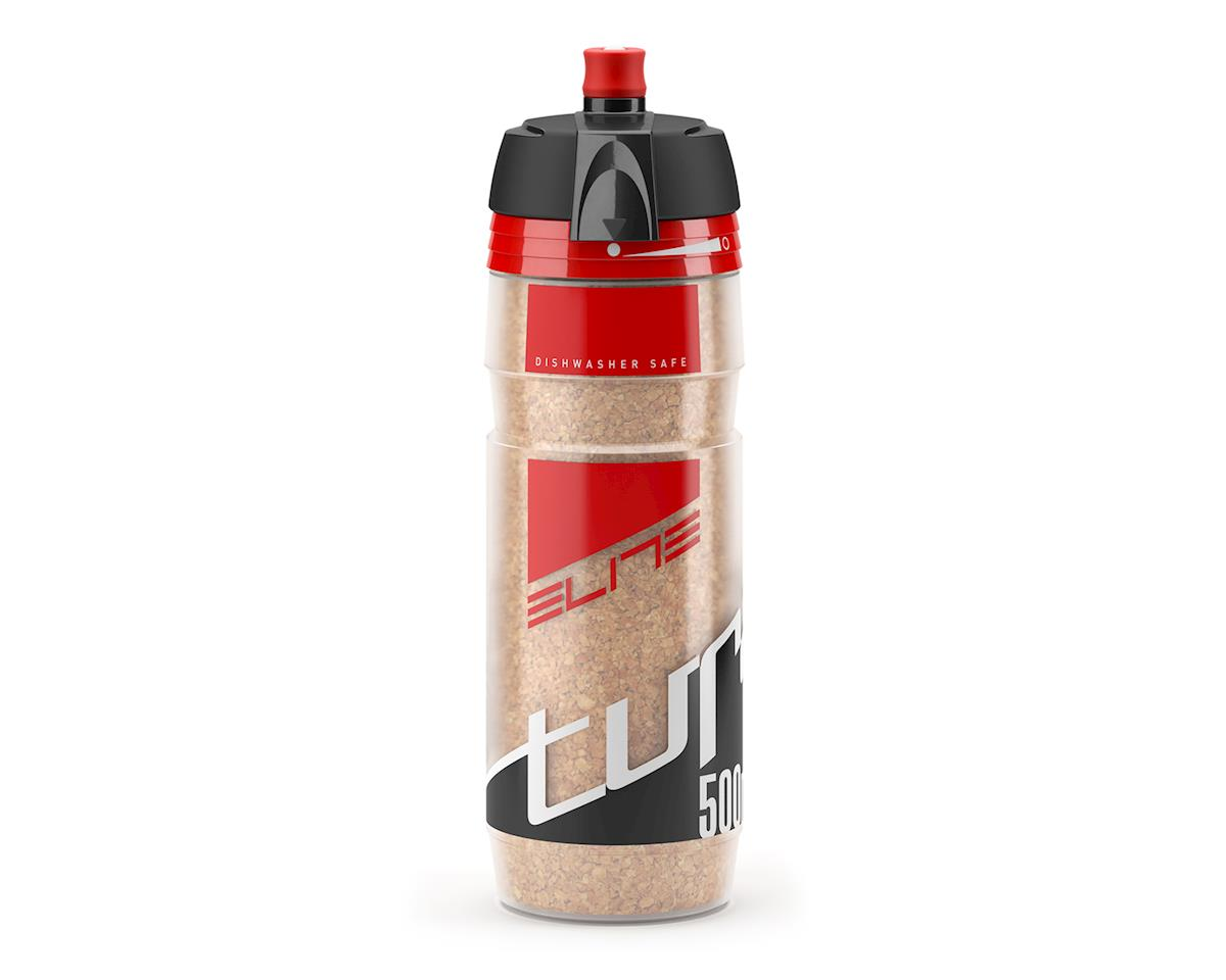 Turacio Cork Insulated 3 Hour Water Bottle (Red) (500ml)