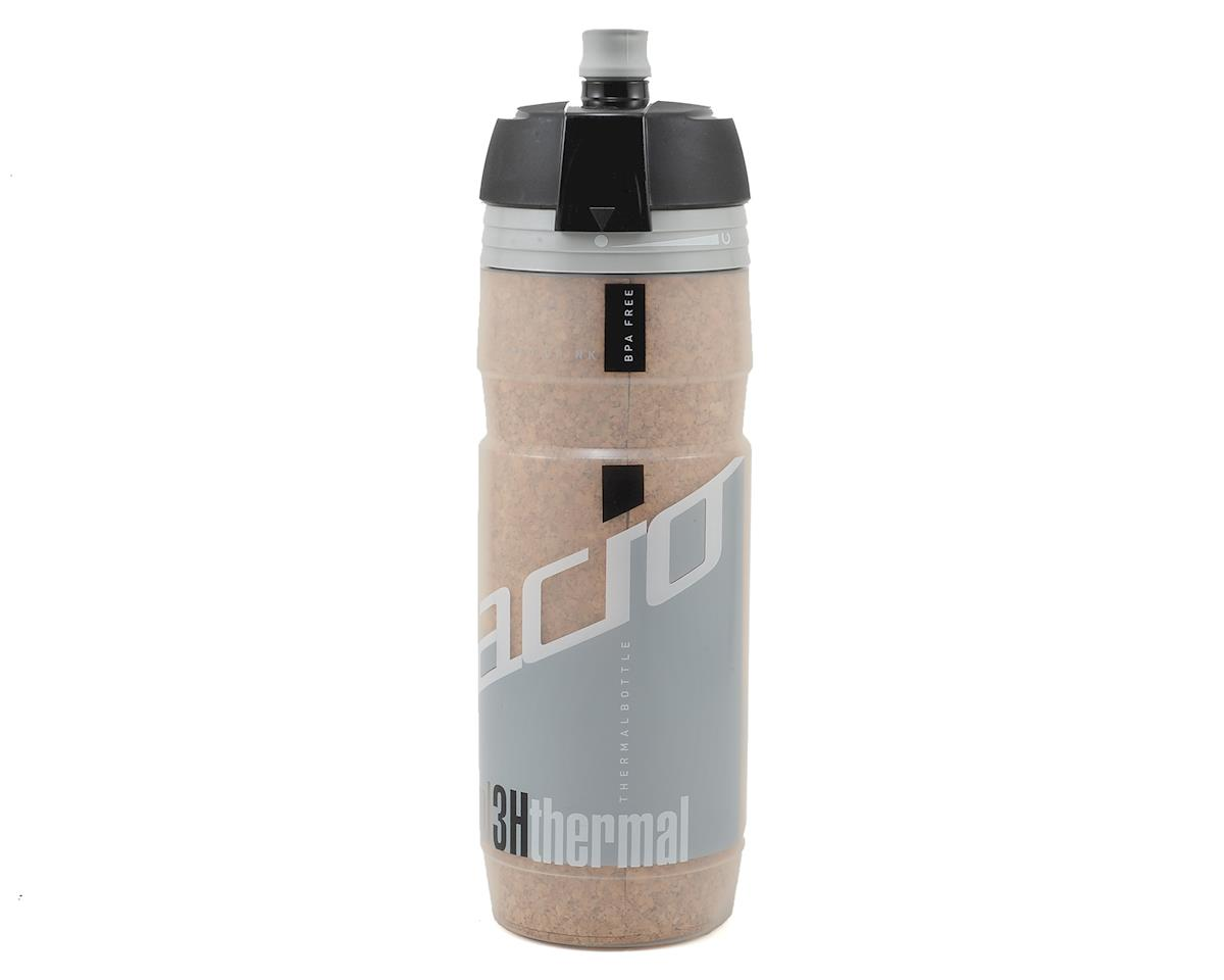 Elite Turacio Cork Insulated 3 Hour Water Bottle (Grey) (500ml)