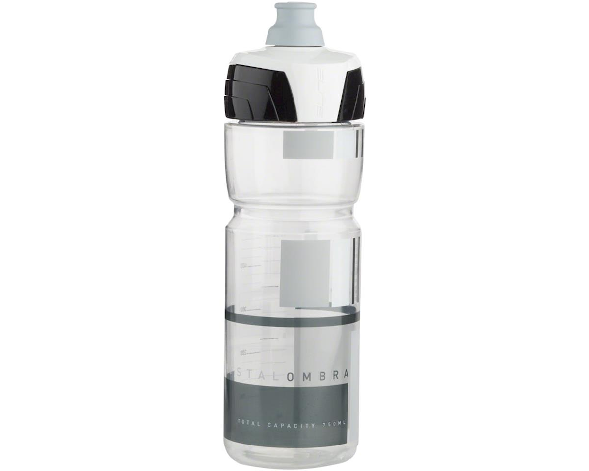 Elite Crystal Ombra Water Bottle (Clear/Gray) (25oz)
