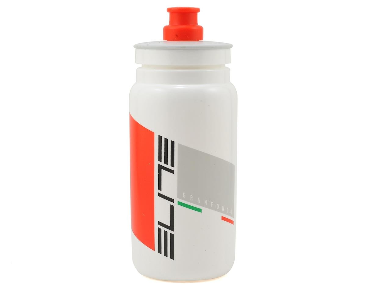 Elite FLY Granfondo Bottle (White) (550ml)