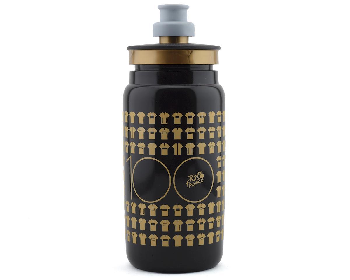 Black//Black Graphic Elite Cannibal XC Skin Water Bottle Cage