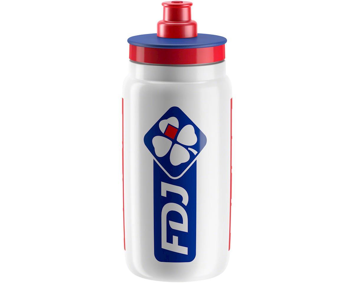 Elite Fly FDJ Team Water Bottle (White) (550ml)