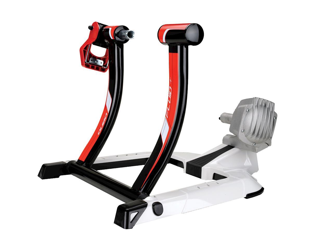 Fluid Bike Trainer >> Elite Qubo Fluid Trainer W Riser Block Sweat Net Yt Eqftc