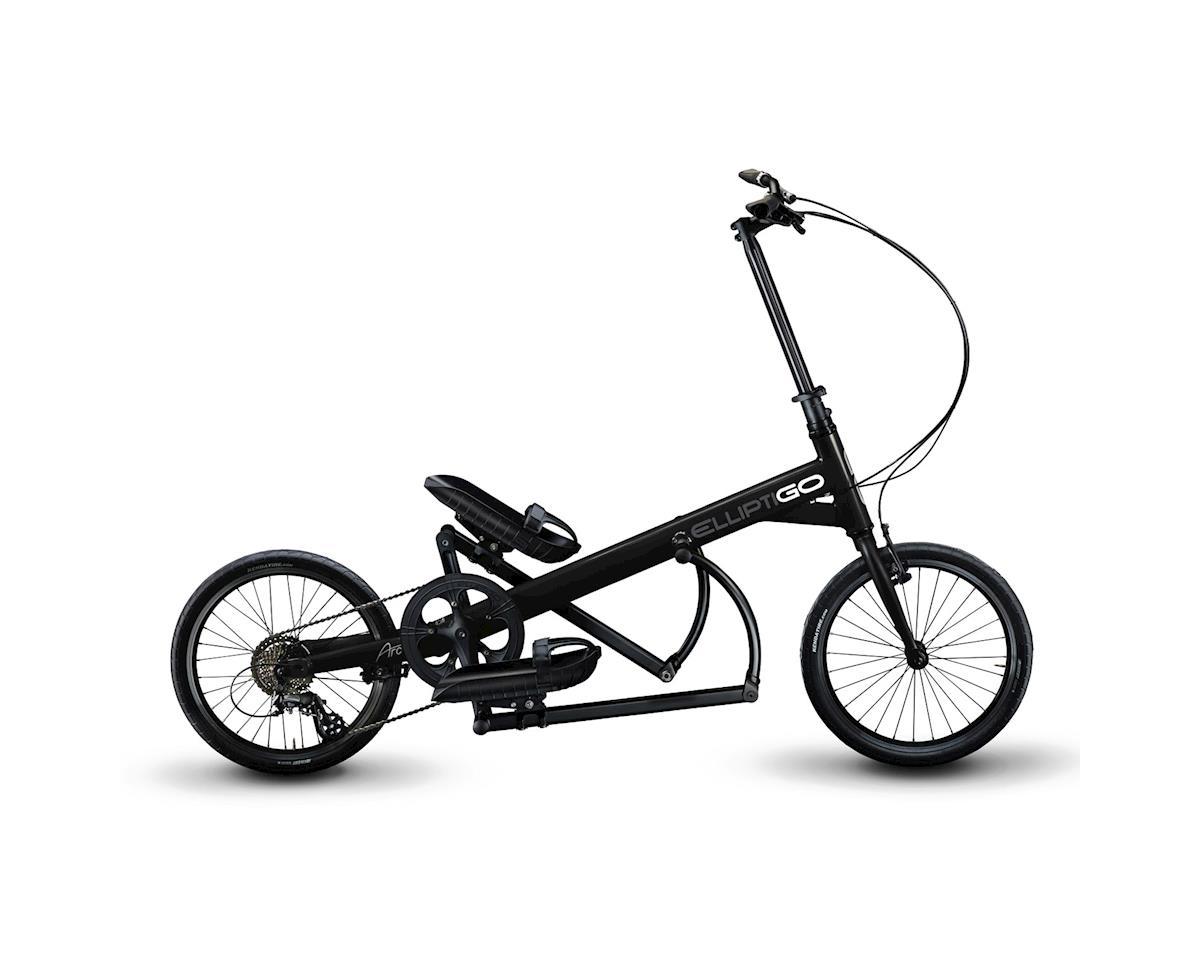 ElliptiGo ARC 8 Outdoor Elliptical Bike (Black)